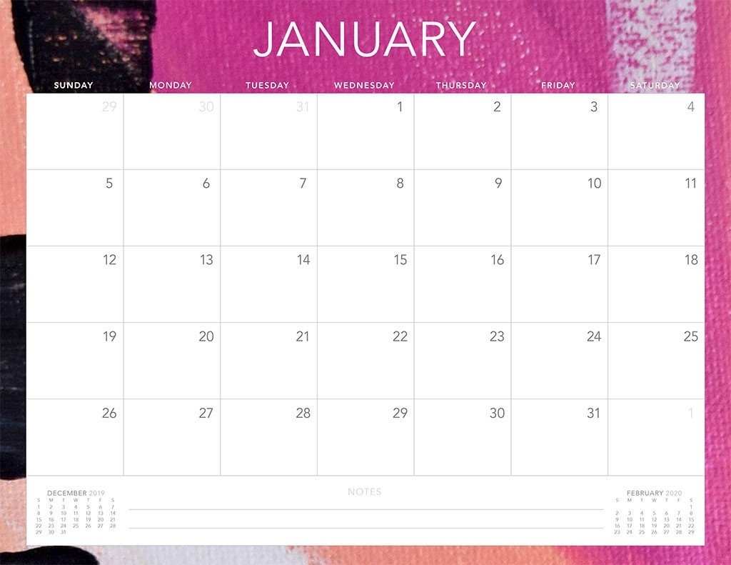 Free 2020 Printable Calendars - 51 Designs To Choose From! within Print Free Calendars 2020Without Downloading