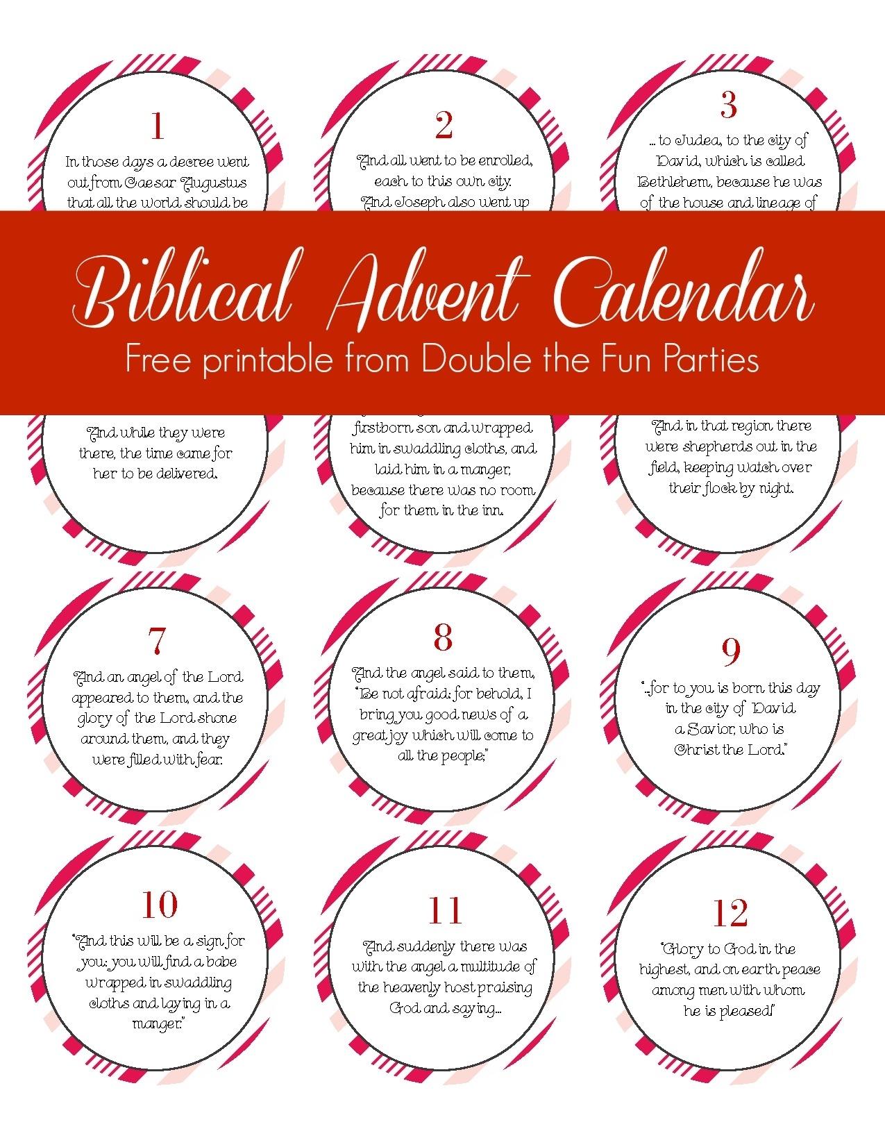 Free Biblical Advent Calendar Printable with Diy Print Bible Verse Advent Calander