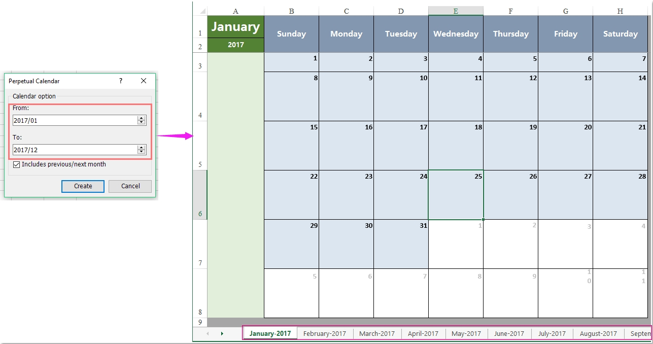 How To List All Mondays / Fridays In A Month In Excel? pertaining to Excel Formula For 2020 Year