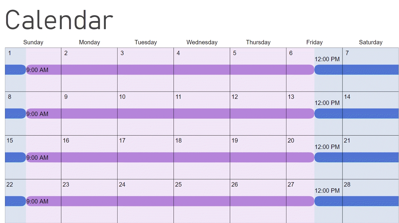 How To Make A Child Custody Calendar: Create & Print Easily intended for Deisn Your Own Pocket Calender Choose Color