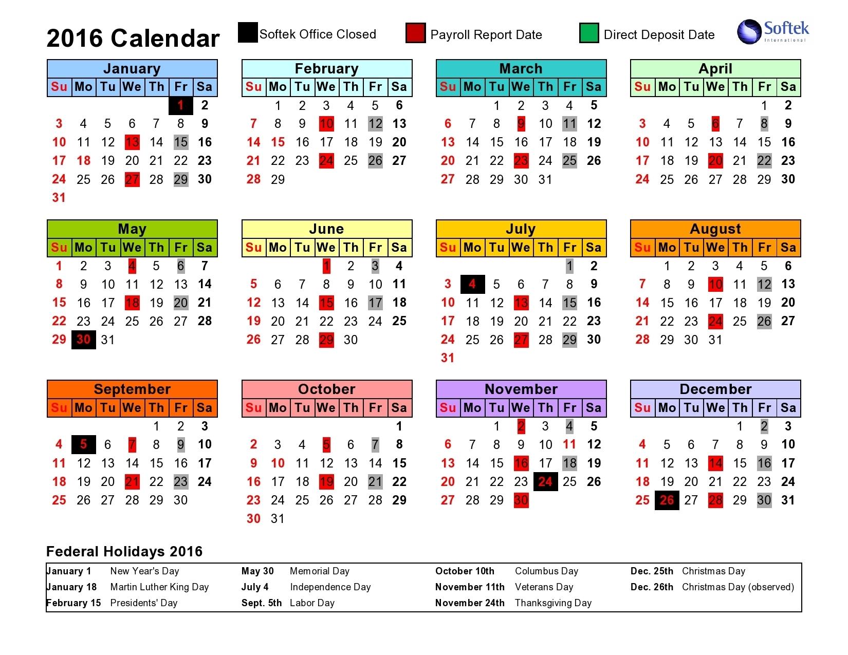 Intuit Payroll Holiday Calendar 2020   Payroll Calendar 2020 with 2020 Federal Pay Period Calendar Printable