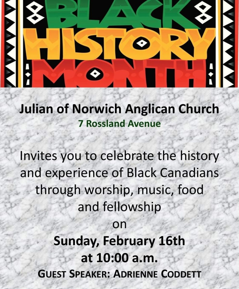 Julian Of Norwich Anglican Church | All Are Welcome To Join Us with regard to Catholic Extension Calendar 2020 Free Pdf
