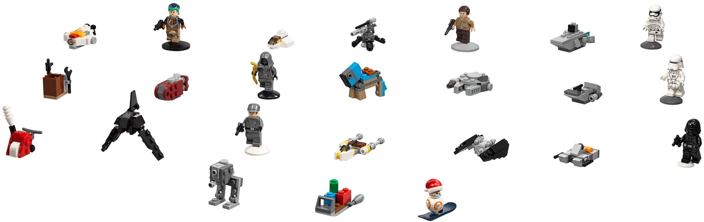 Lego 75184 Star Wars Advent Calendar Instructions, Star Wars within Lego Star Wars 2018 Advent Calendar Instructions