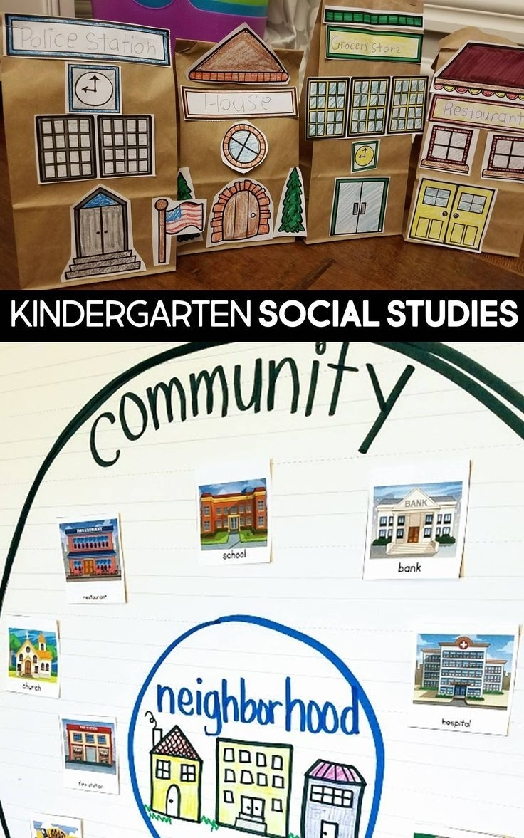Little Social Studies Thinkers Unit 4: My Community regarding Where We Live Upk Unit