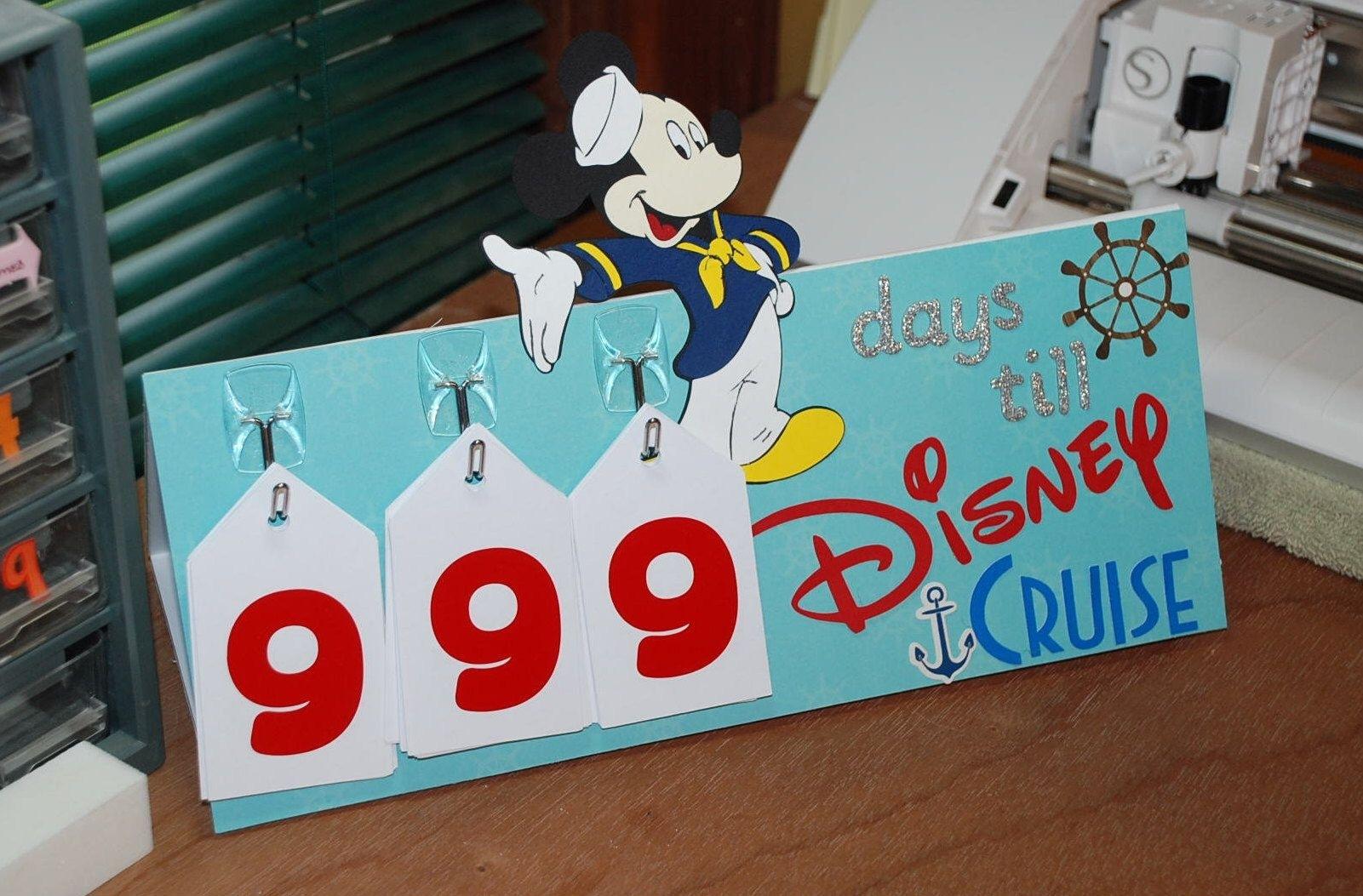 Pinpam Pilger On Disney Cruise | Countdown Calendar with regard to Count Diwn Calendar Fir Disney Cruise