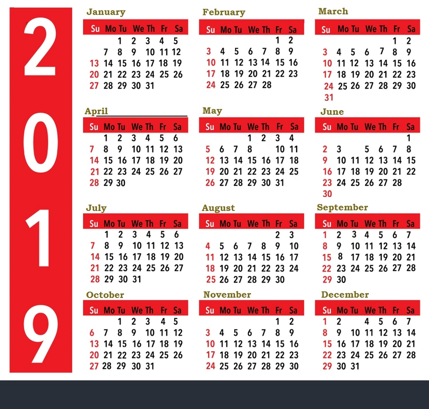 Printable Calendar For 2019, 2020, 2021, 2022 | Calendar Shelter for May Calendars For 2019 2020 2021 And 2022