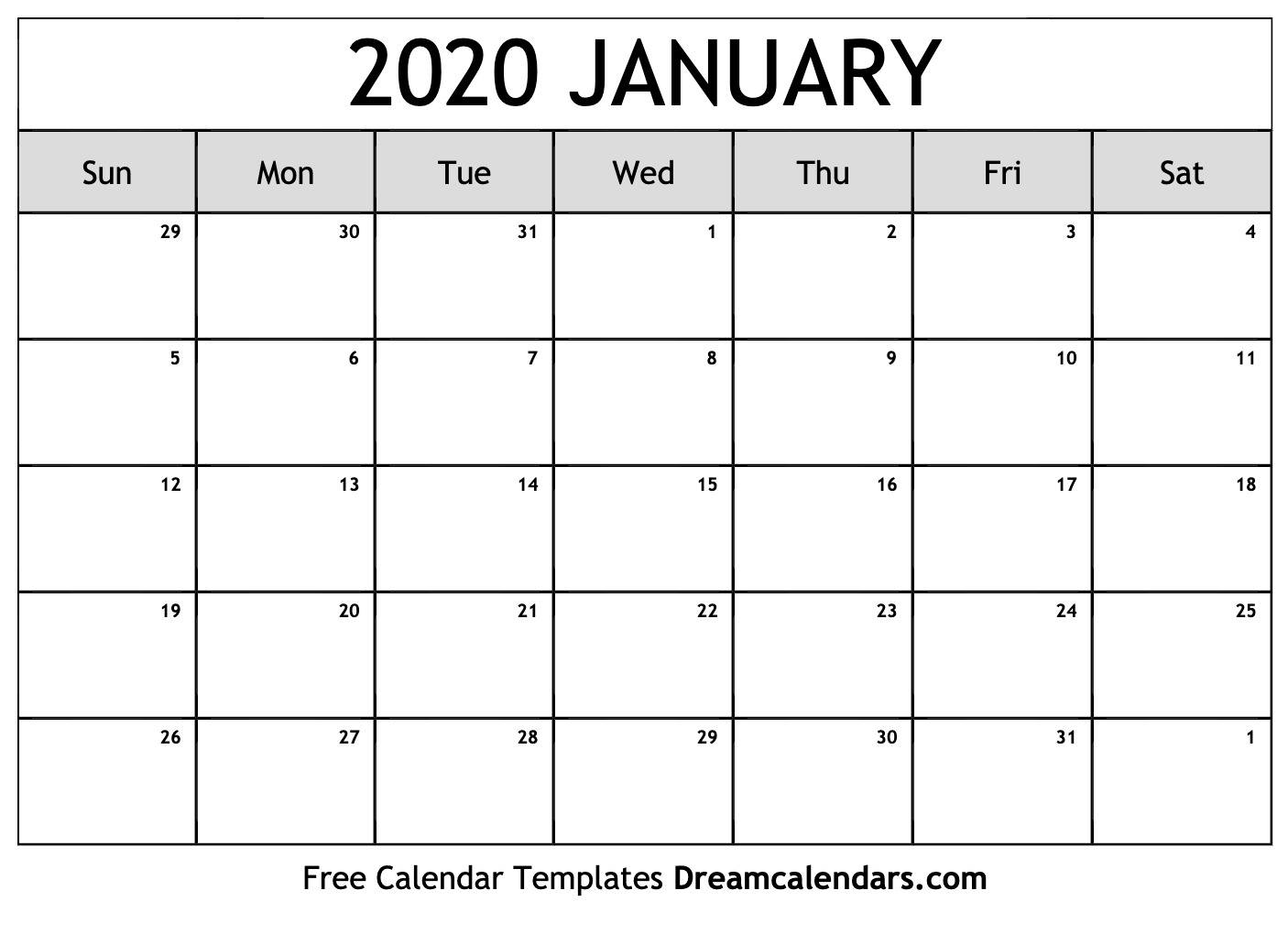 Printable January 2020 Calendar with This Pc Liturgical Colours 2020