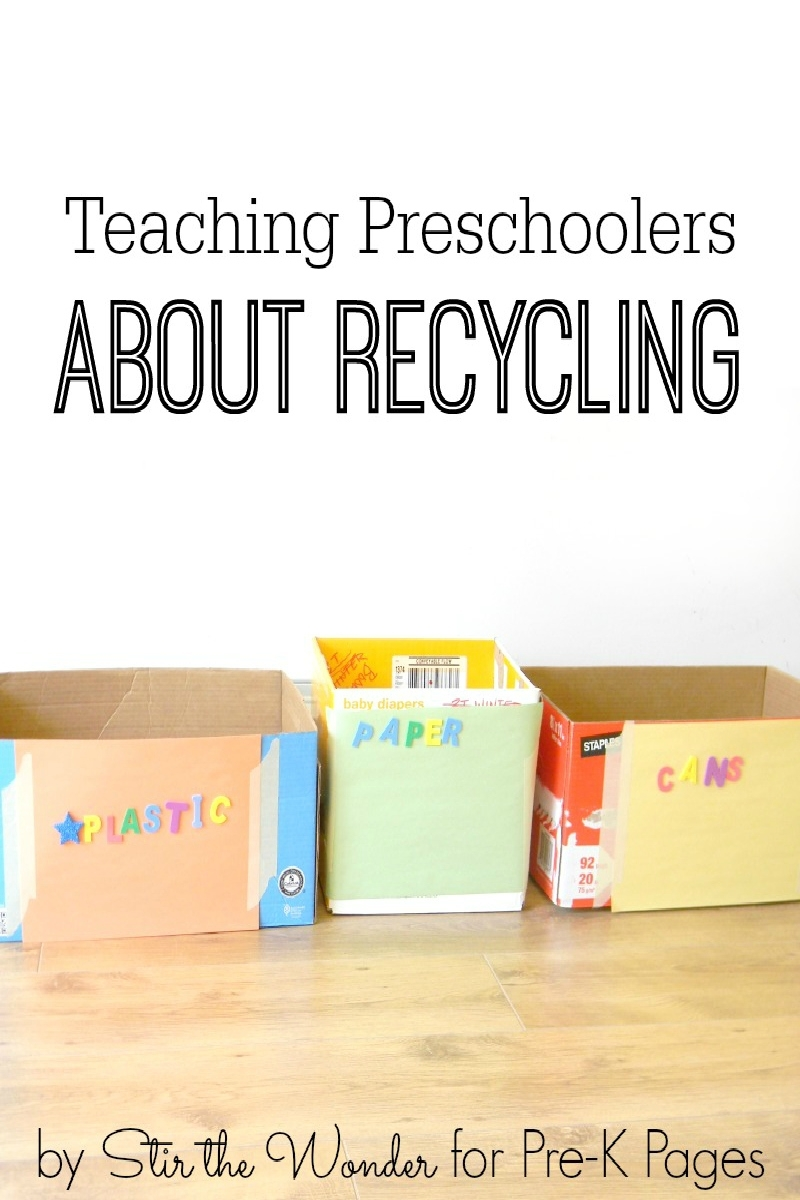 Teaching Preschoolers About Recycling - Pre-K Pages regarding Where We Live Upk Unit