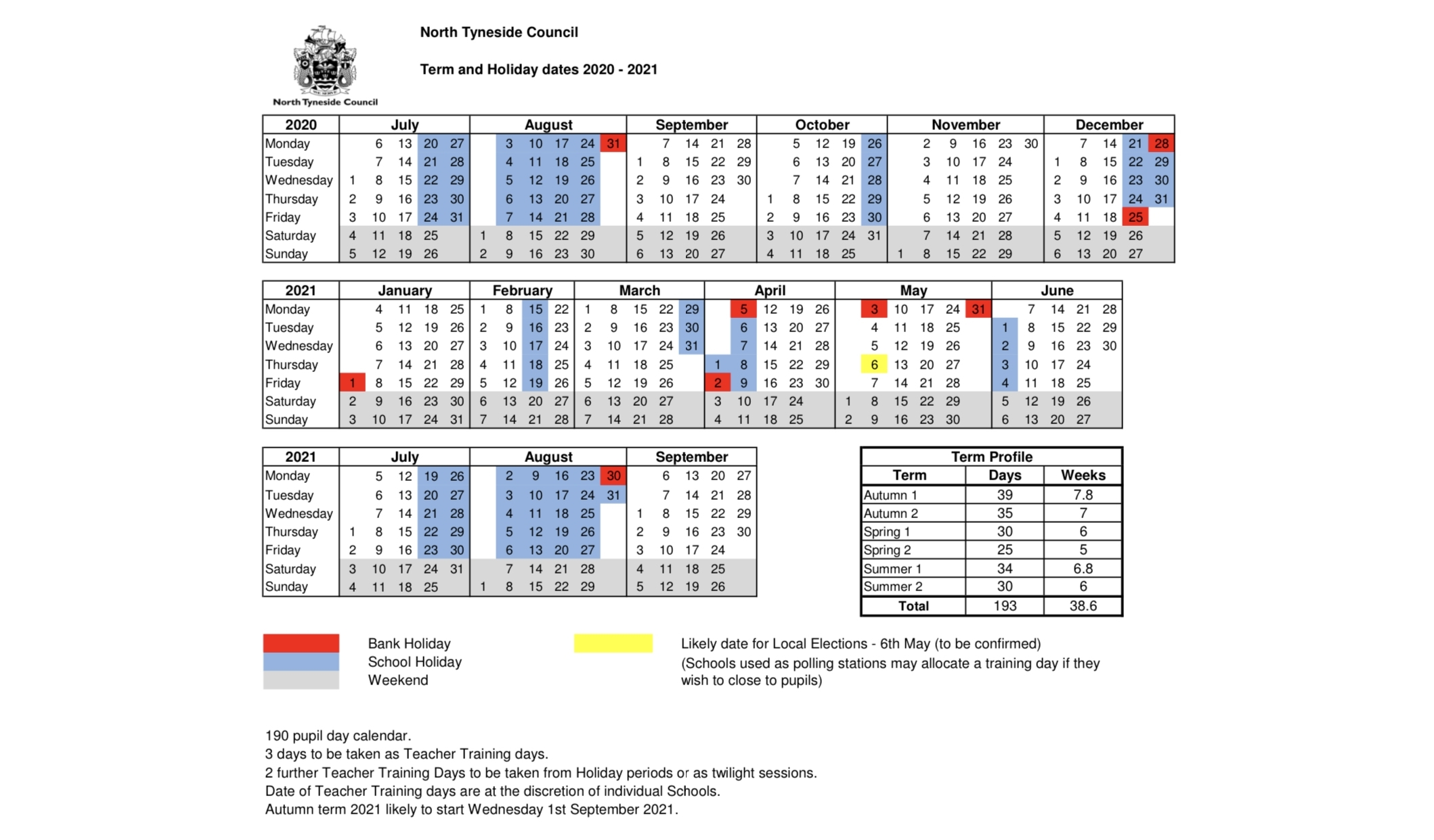 Term Dates – Western Community Primary School for Pshe Special Days Calendar 2019/2020