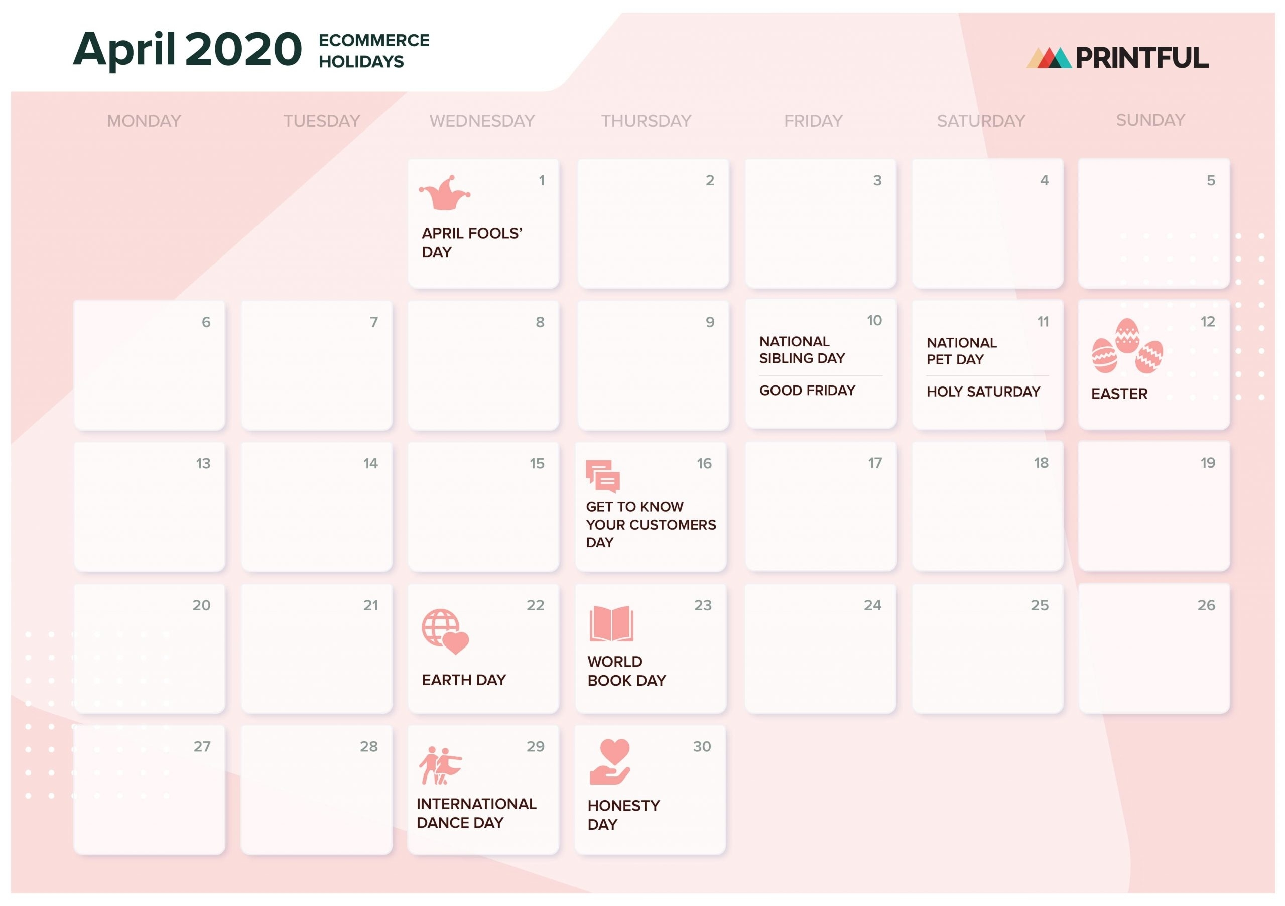 The Ultimate 2020 Ecommerce Holiday Marketing Calendar regarding Special Days In The Business Calendar 2020