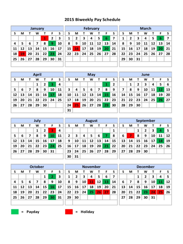 2020 Federal Pay Period Calendar Printable - Calendar ...