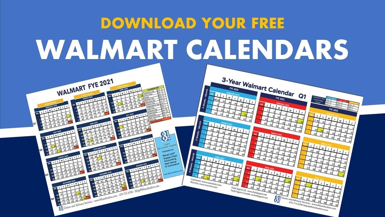 Walmart Fiscal Year Calendar | 2019-2020 | Free Download intended for Financial Week Calendar 2019 2020