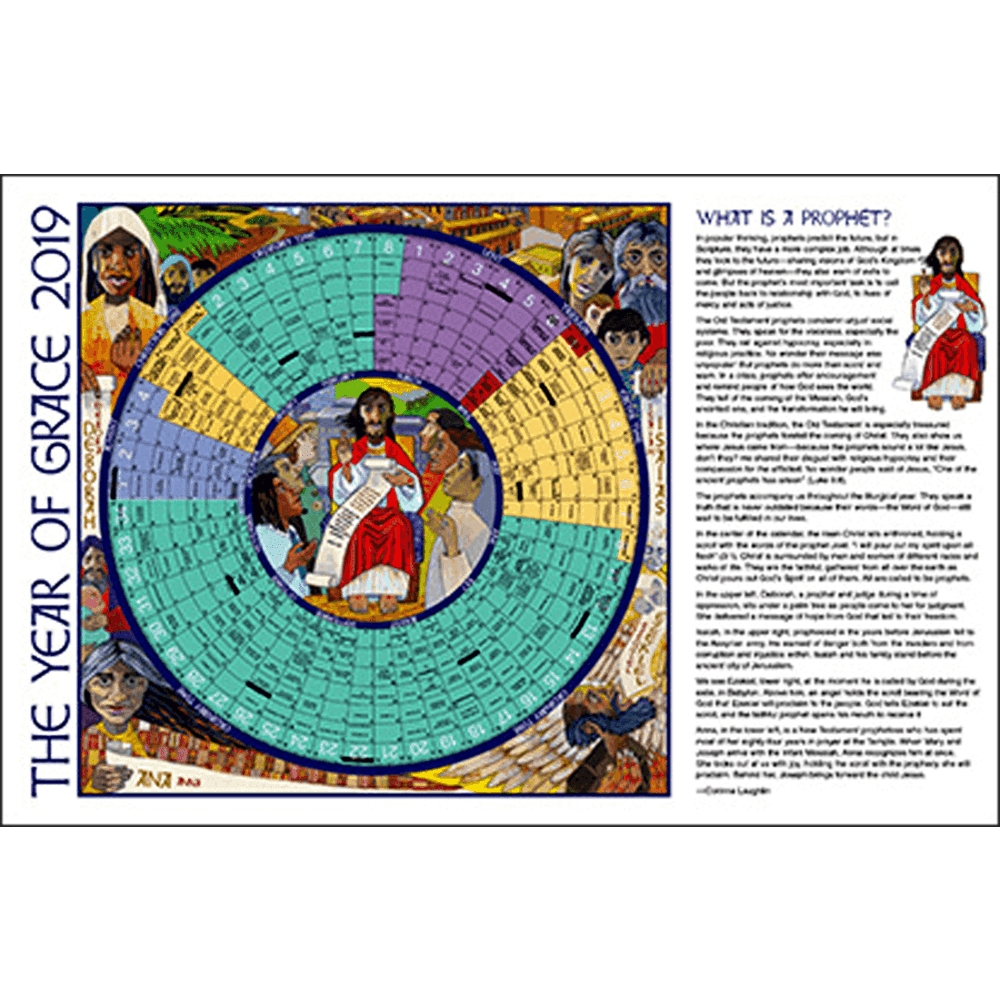Year Of Grace Liturgical Calendars 25 Pack: 2020 Paper Notebook Edition |  Aquinas And More Catholic Gifts throughout 2020 Catholic Liturgical Calendar Colors
