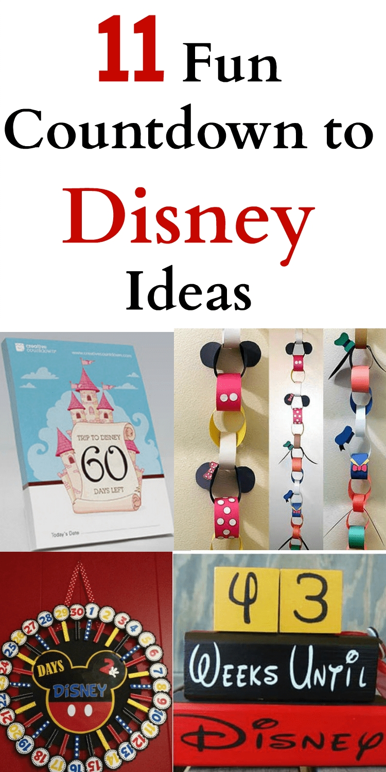 11 Fun Countdown To Disney Ideas throughout Disney Cruise Countdown Calendar Out Of Paper