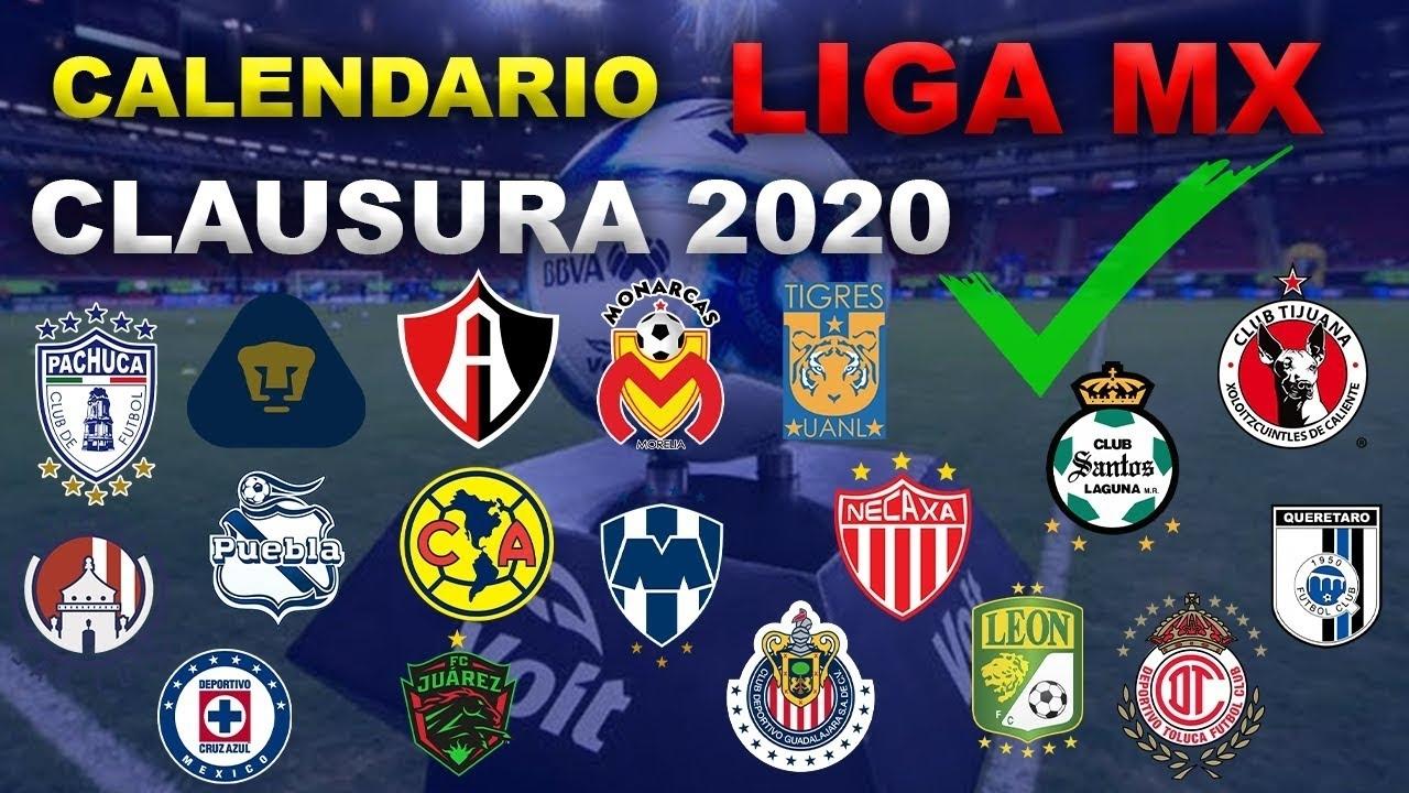 Calendario Completo Liga Mx Clausura 2020 | Todos Los Partidos Y Novedades within Liga Mx Clausura 2020 Fechas