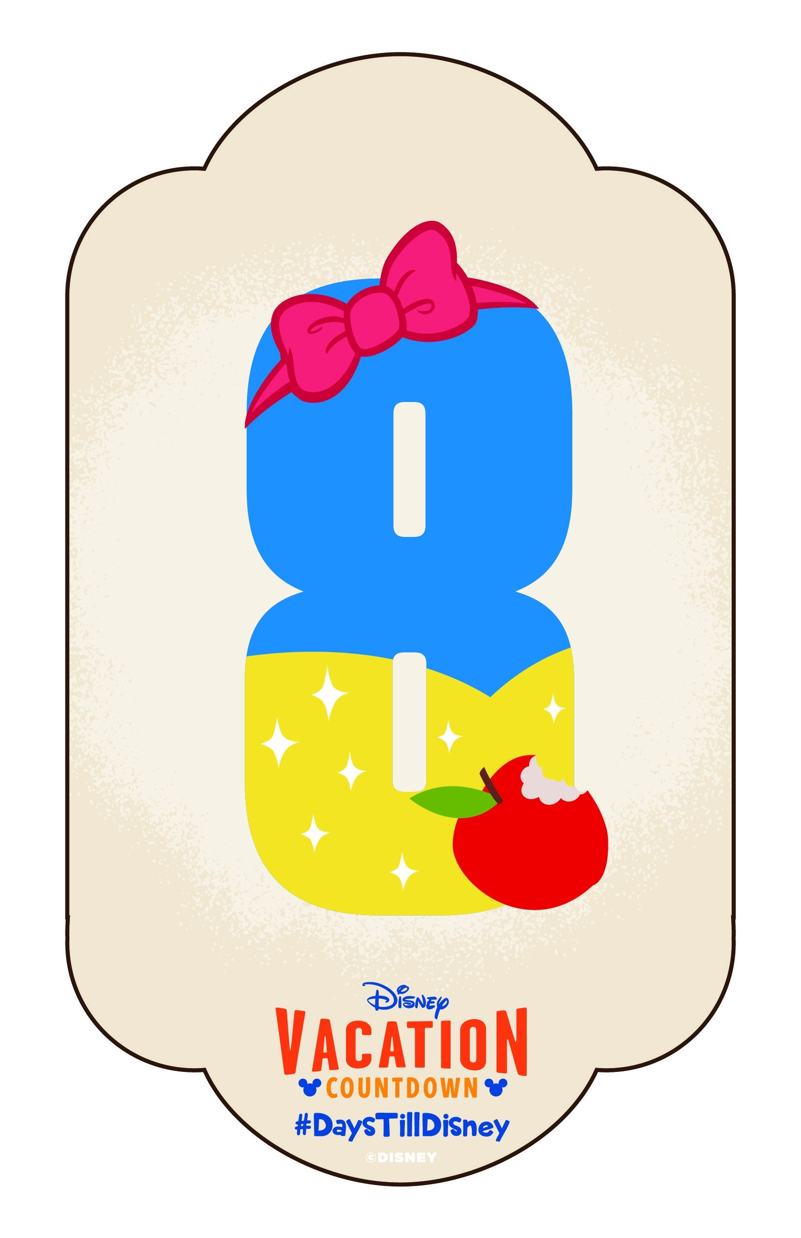 Diy: Create-Your-Own Walt Disney World Vacation Countdown regarding Disney Cruise Countdown Calendar Out Of Paper