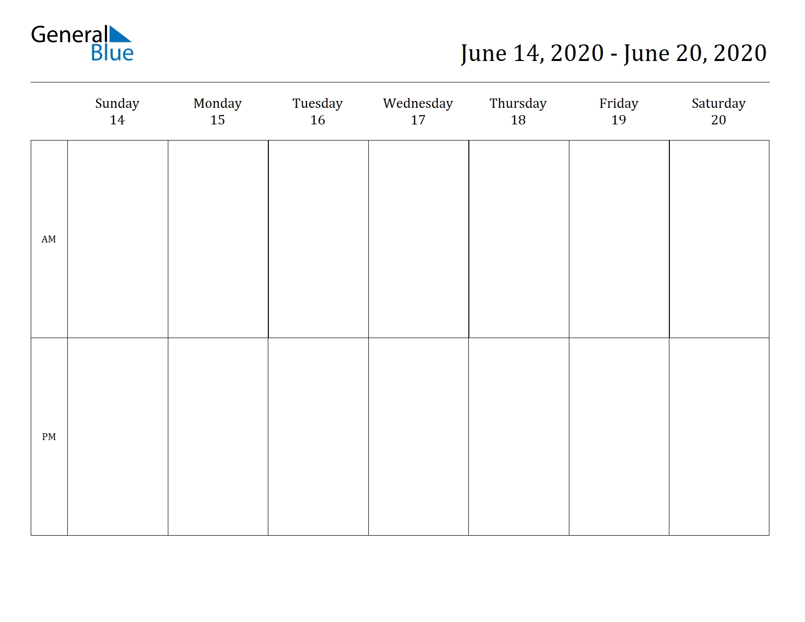 Free Printable Calendar In Pdf, Word And Excel intended for 2020 Calendar Format Monday Through Friday Week