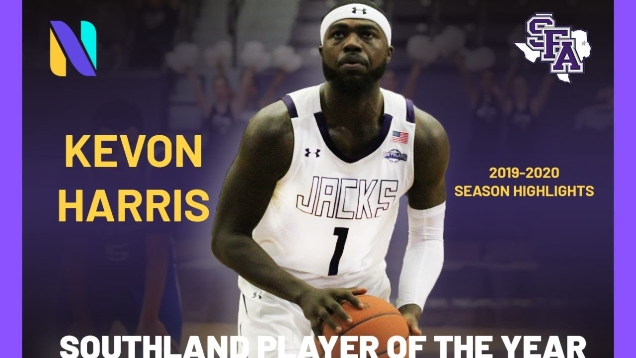 Kevon Harris Stephen F. Austin Lumberjacks 2019 - 2020 Highlight Montage |  Southland Conference Poty throughout Stephen F Austin Preview Day 2020
