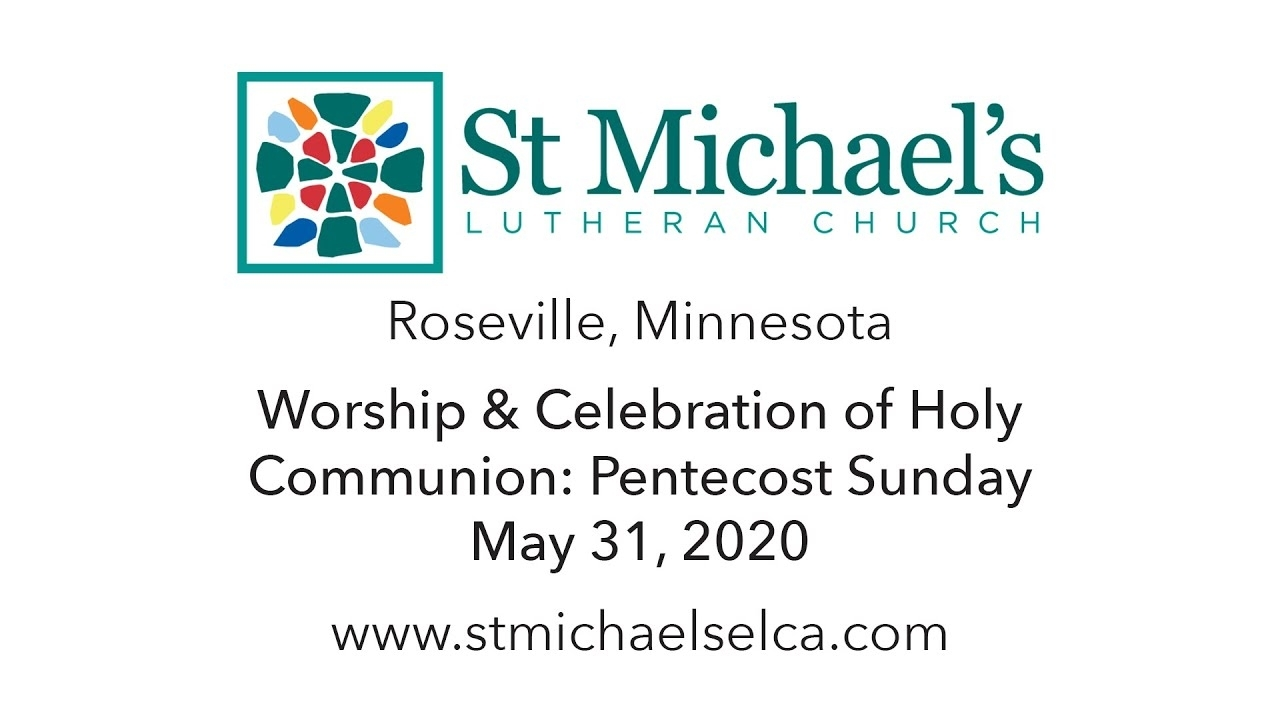 Online Worship - St. Michael's Lutheran Church - Roseville, Mn with Liturgical Calendar 2020 Pdf Lutheran