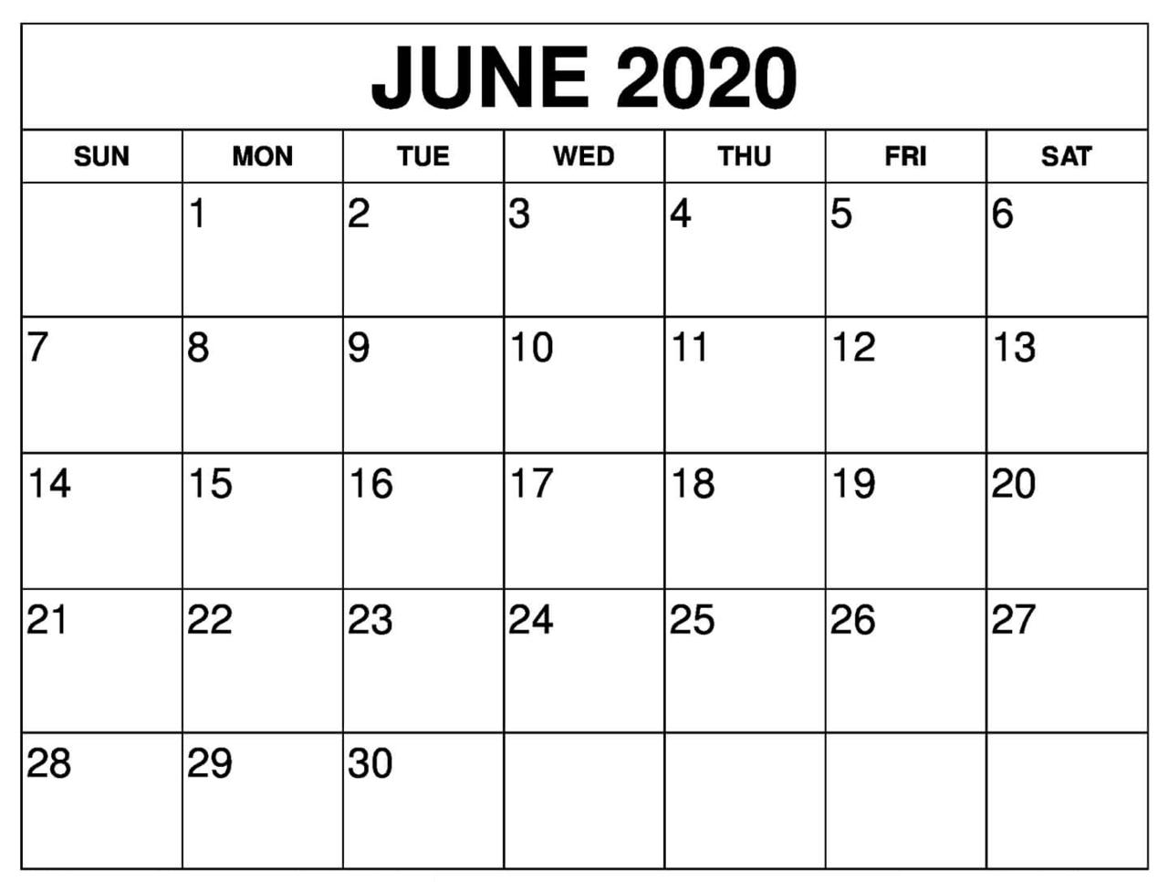 Printable Calendar - Printablecalendar.pictures intended for 2020 Calendar Free Printable Liturgical