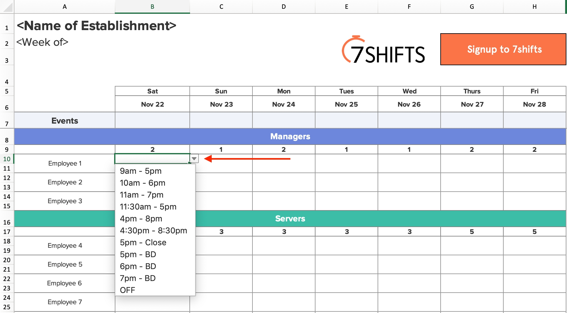 Shift Schedules: The Ultimate How-To Guide | 7Shifts intended for 12 Hour Shift Calendar Templates