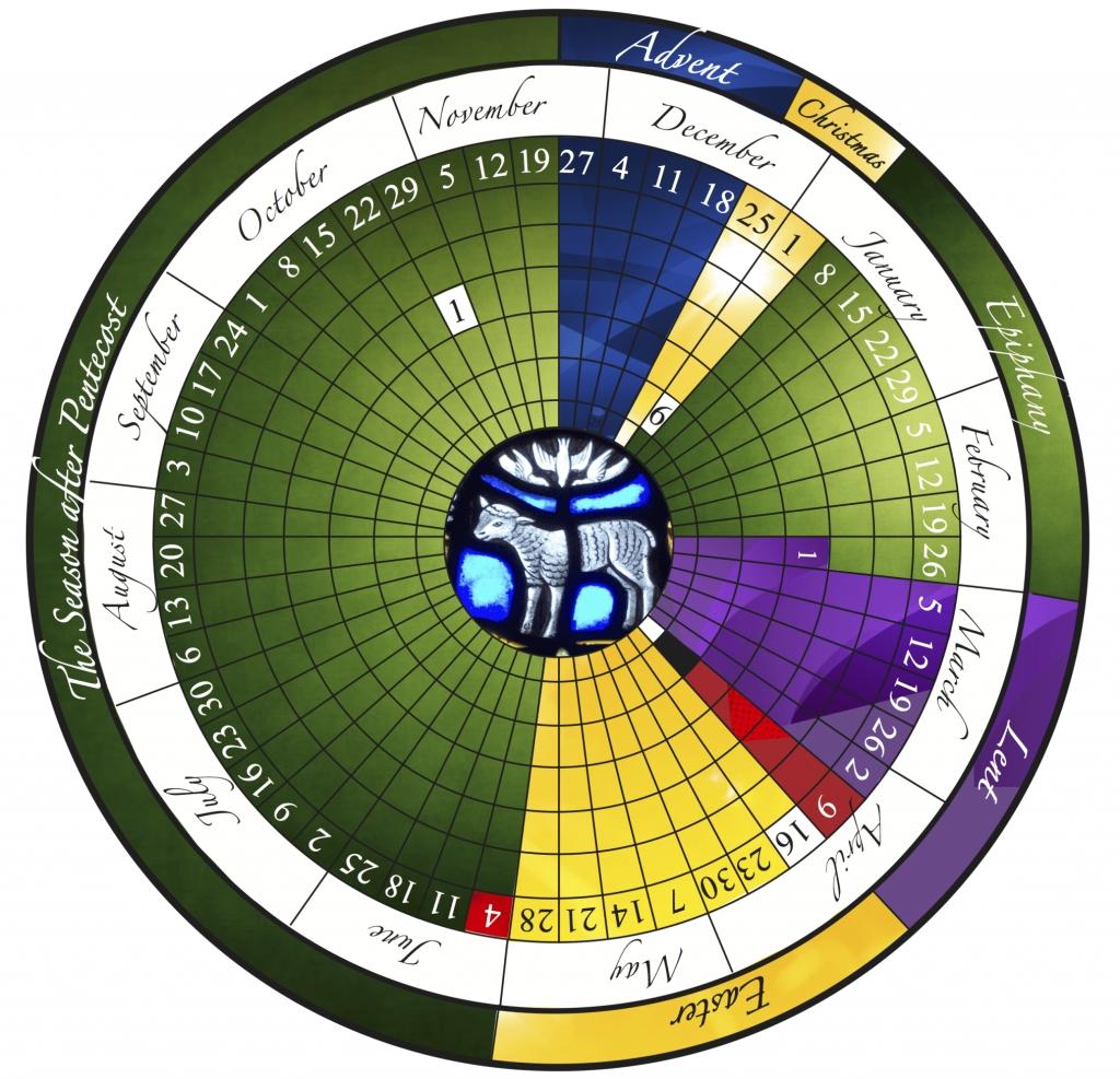 The Liturgical Year Explained (Plus Free Printable Calendar!) in Liturgy Colors 2020 Calendar Catholic