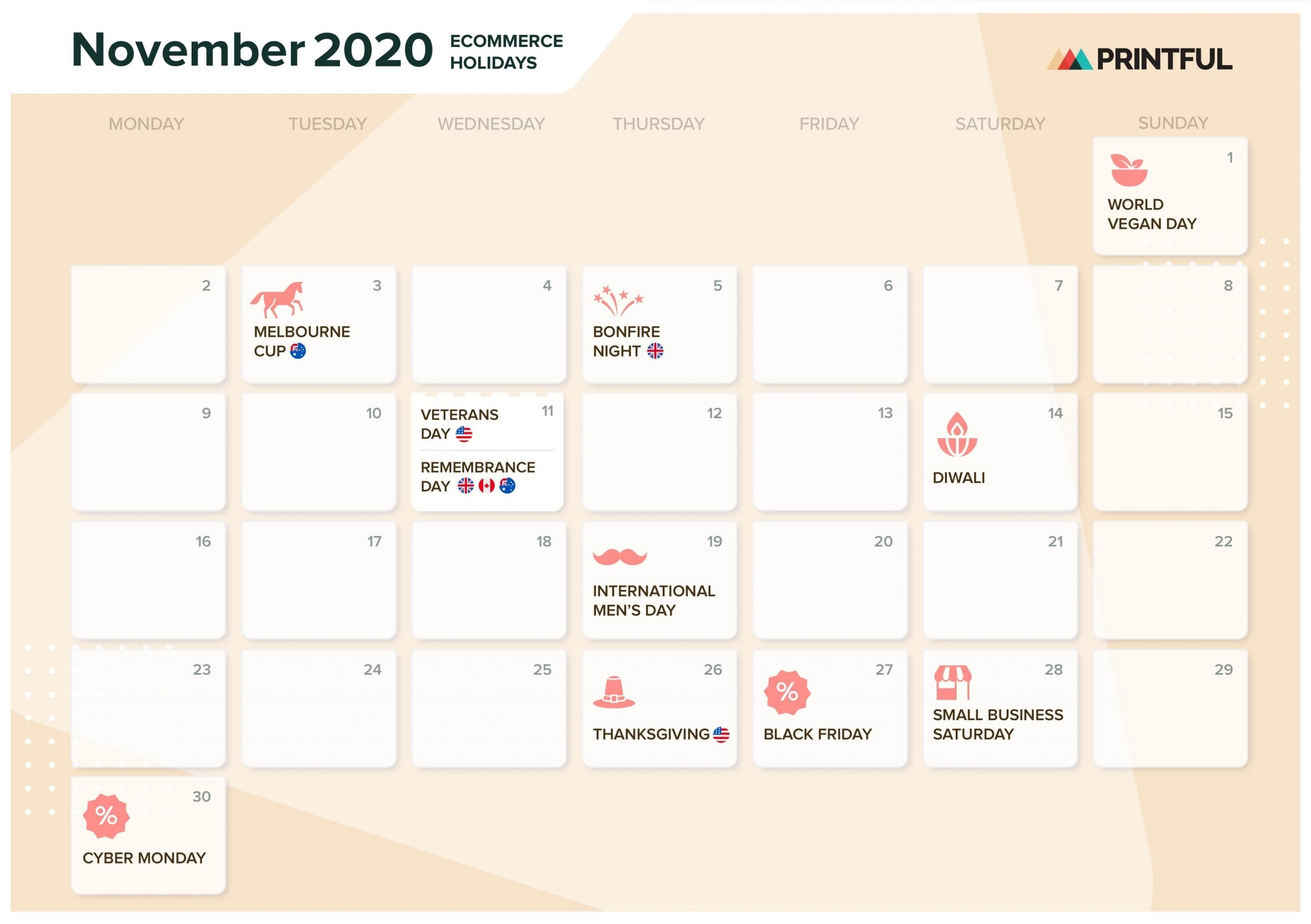 The Ultimate 2020 Ecommerce Holiday Marketing Calendar with Liturgical Planning 2020 Calendar Download