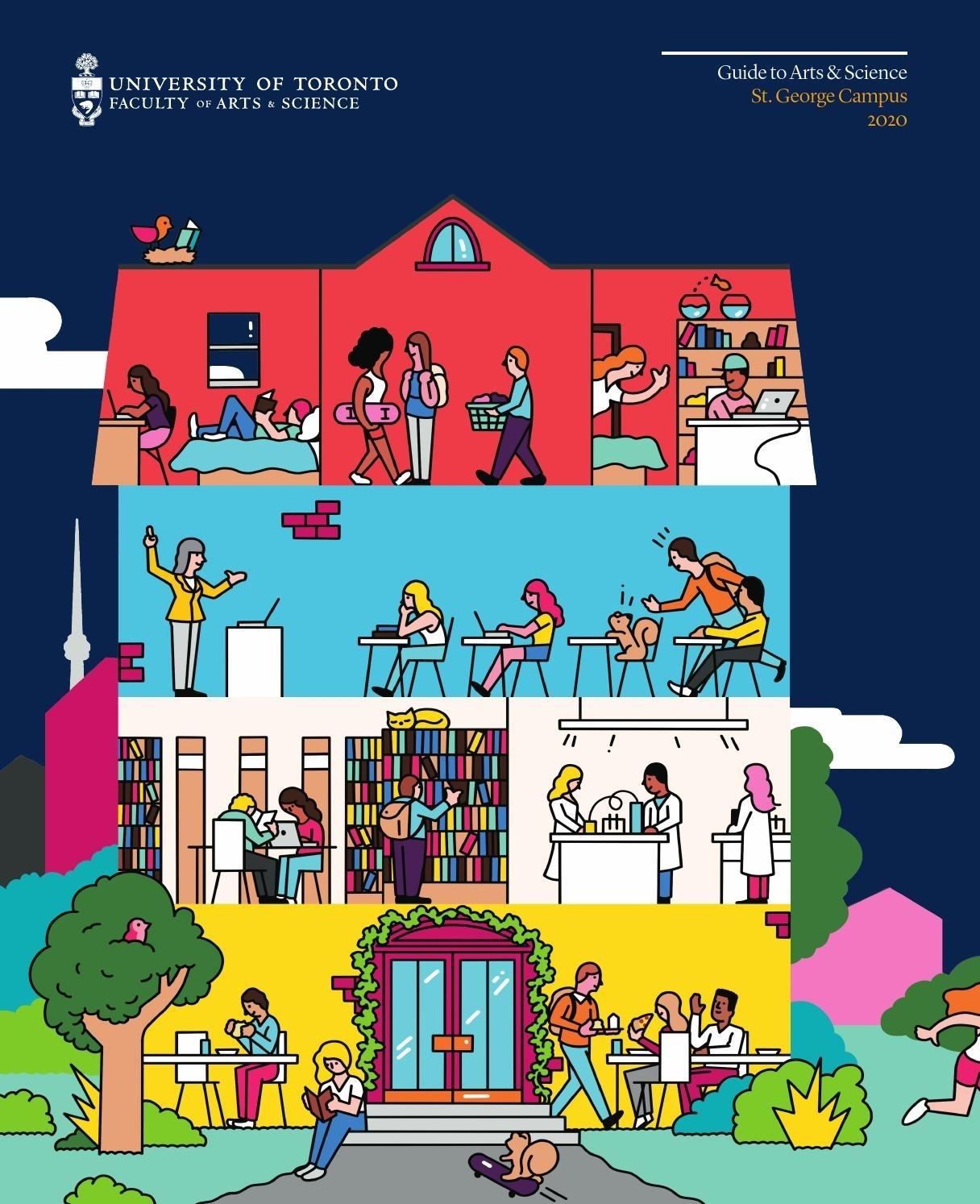 U Of T Arts & Science Viewbook 2020Faculty Of Arts in U Of T 2020-2021 Academic Calendar