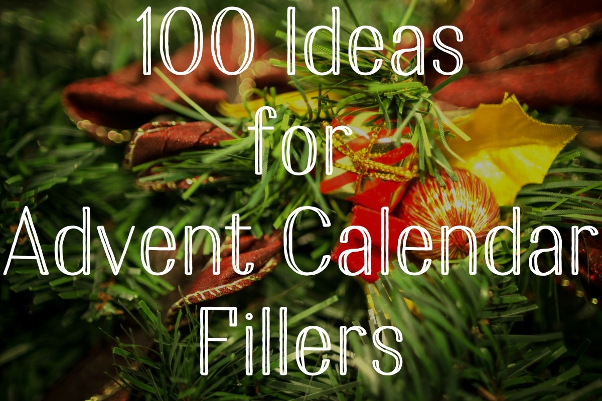 100 Ideas For Advent Calendar Fillers - Holidappy - Celebrations with regard to Bible Verse Advent Calendar With Gift Ideas