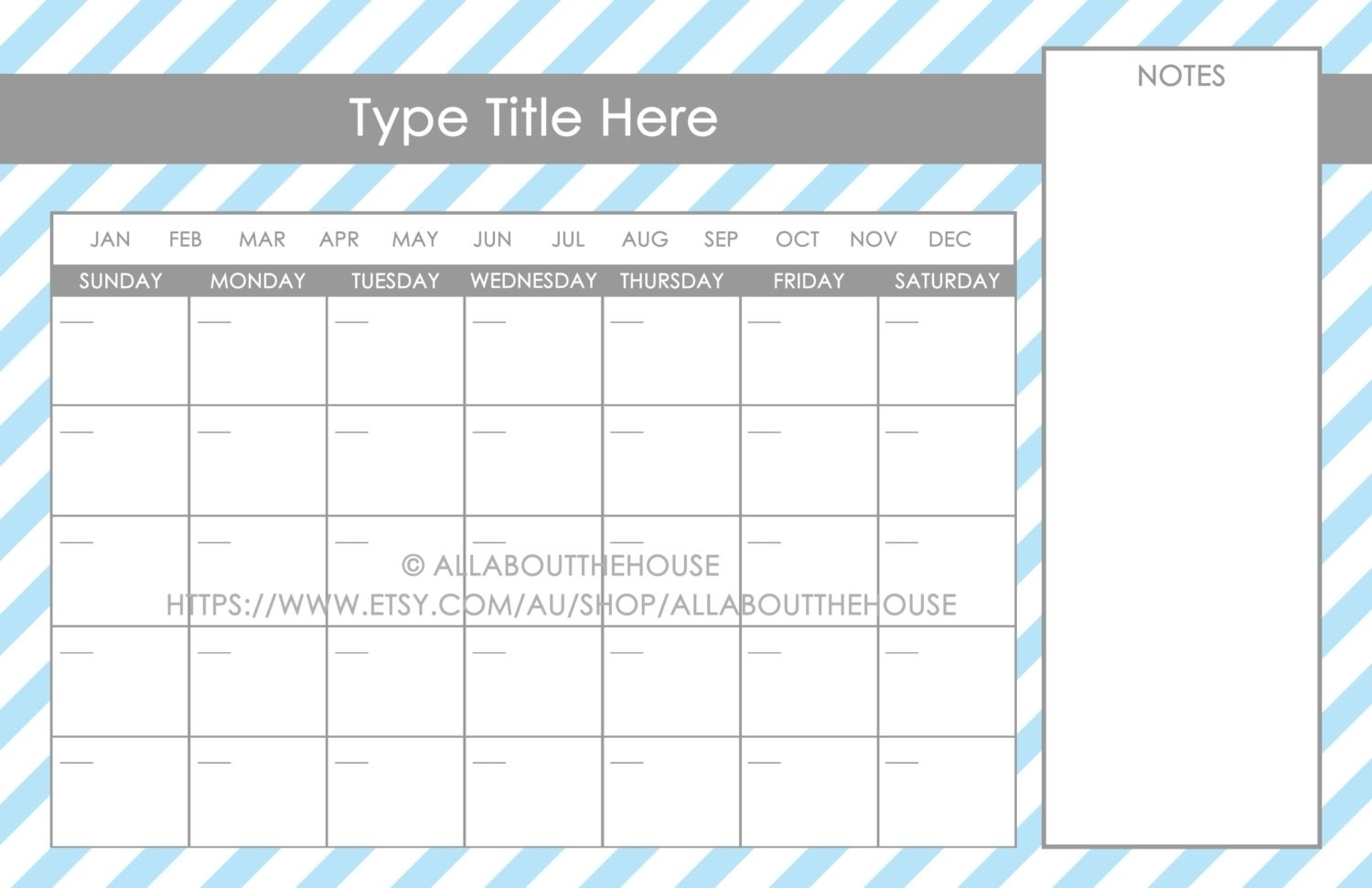 11X17 Calendar Template Word with Free Printable 11X17 Monthly Calendar