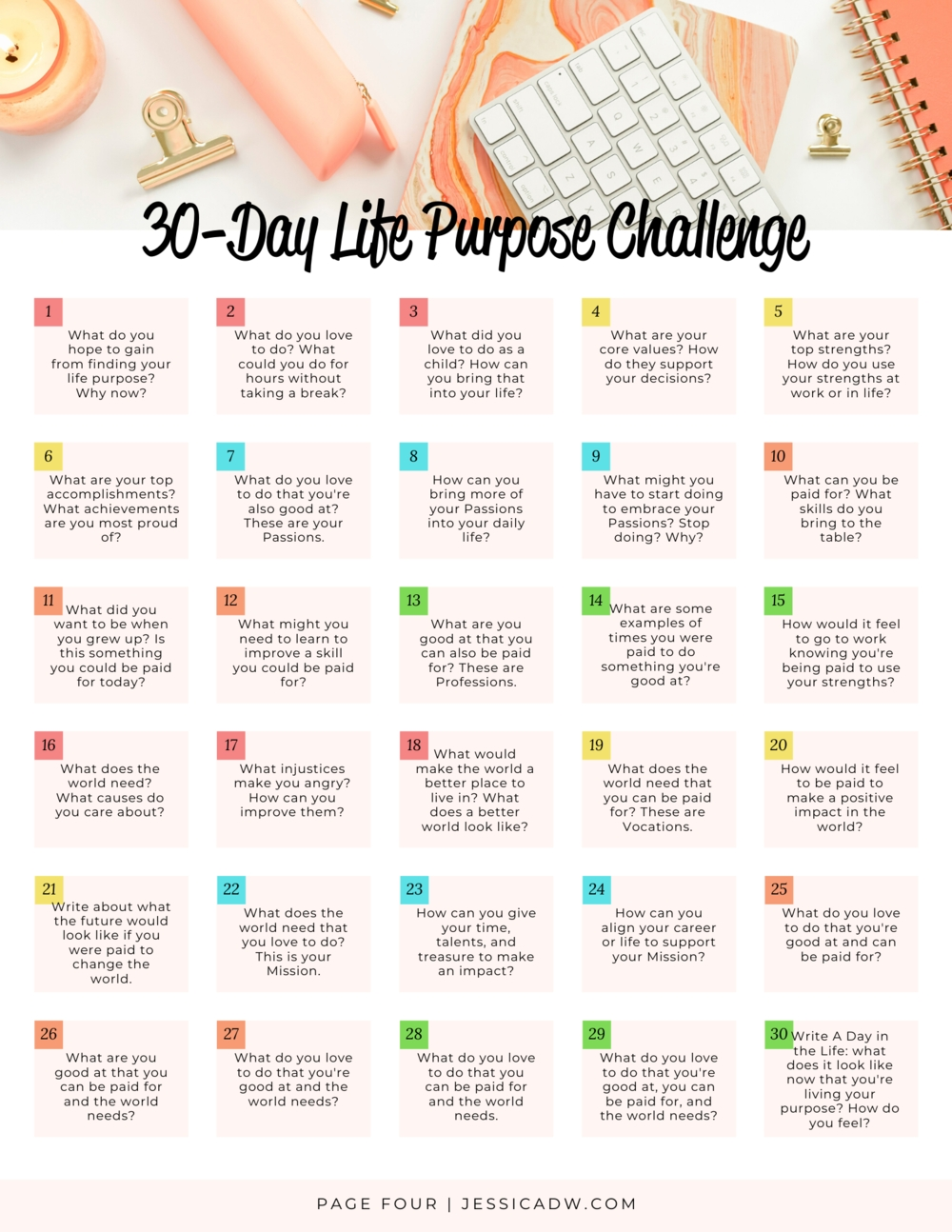 15 Of My Favorite 30-Day Challenges — Jessica Dw | Spiritual
