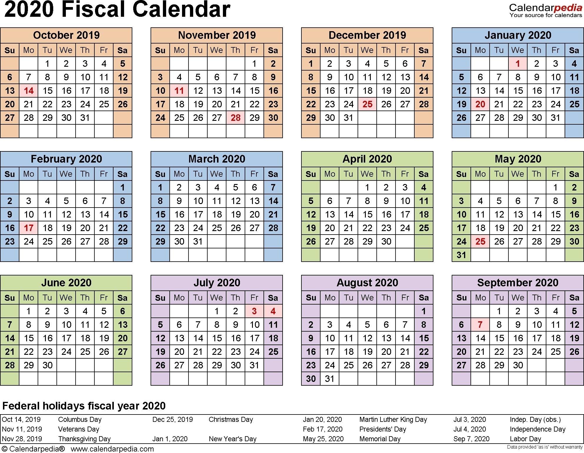 2019 2020 Financial Year Calendar In 2020   Payroll Calendar within Financial Calendar 2019-2020 In Weeks