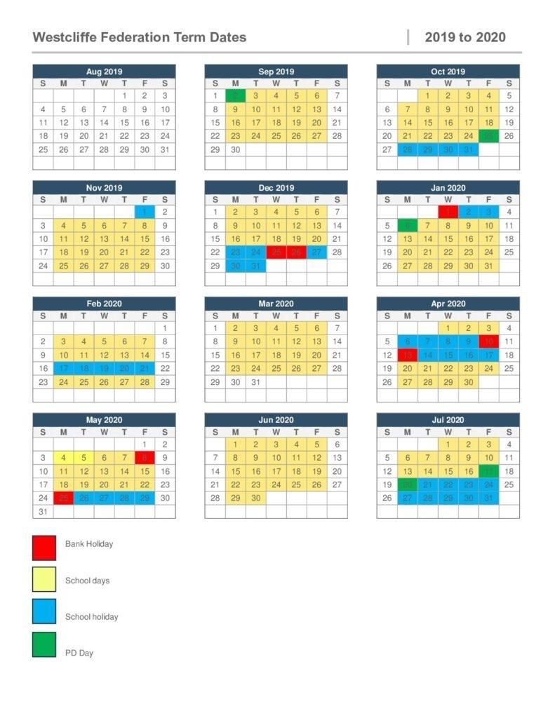 2019-2020 Term Dates – West Felton Ce Primary School And Nursery inside School Calendar For Pshe Events 2019-2020