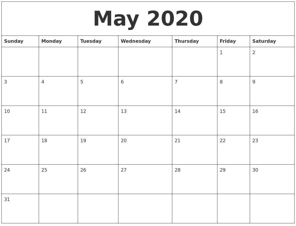 2020 Calendar Autos Post Custom Editable 2020 Free Printable pertaining to 2020 Free 12 Month Printable Monthly Calendar