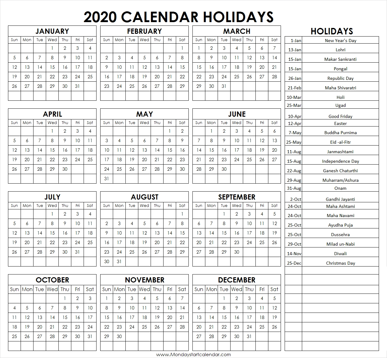 2020 Federal Calendar With Pay Period | Fresh Calendar Template within Federal Pay Periods 2020 Schedule