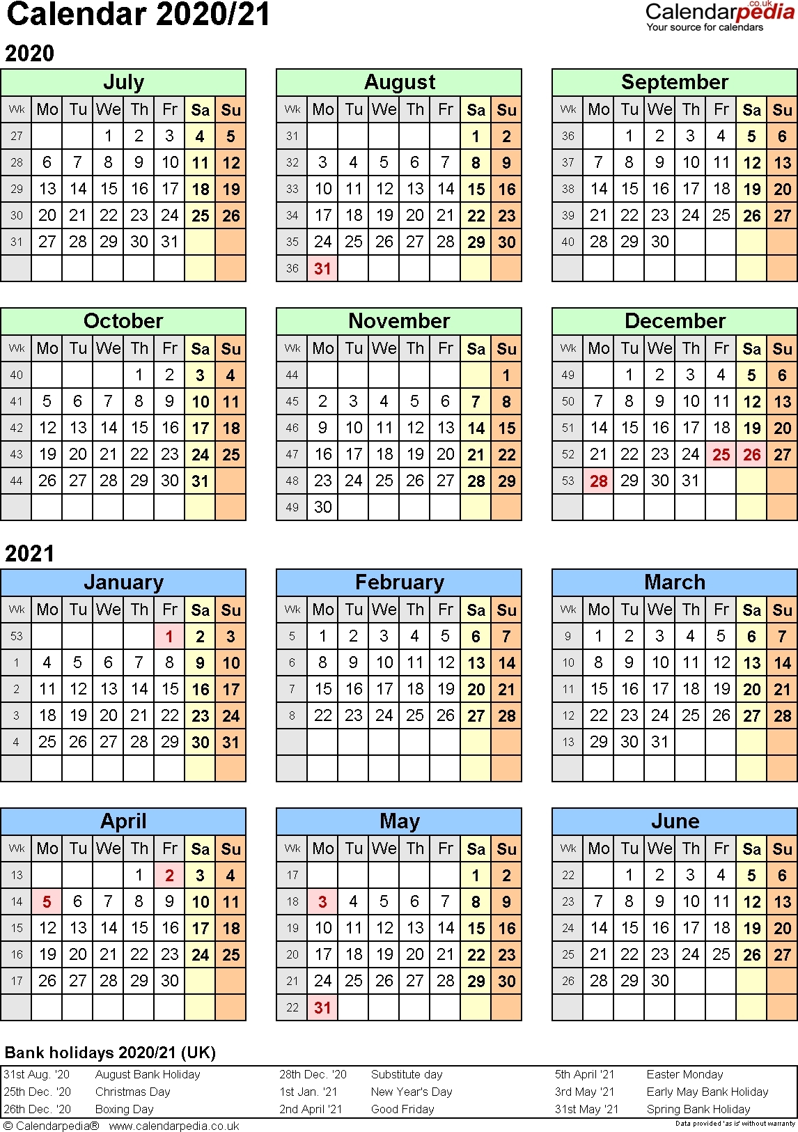 2020 Federal Leave Calendar Opm