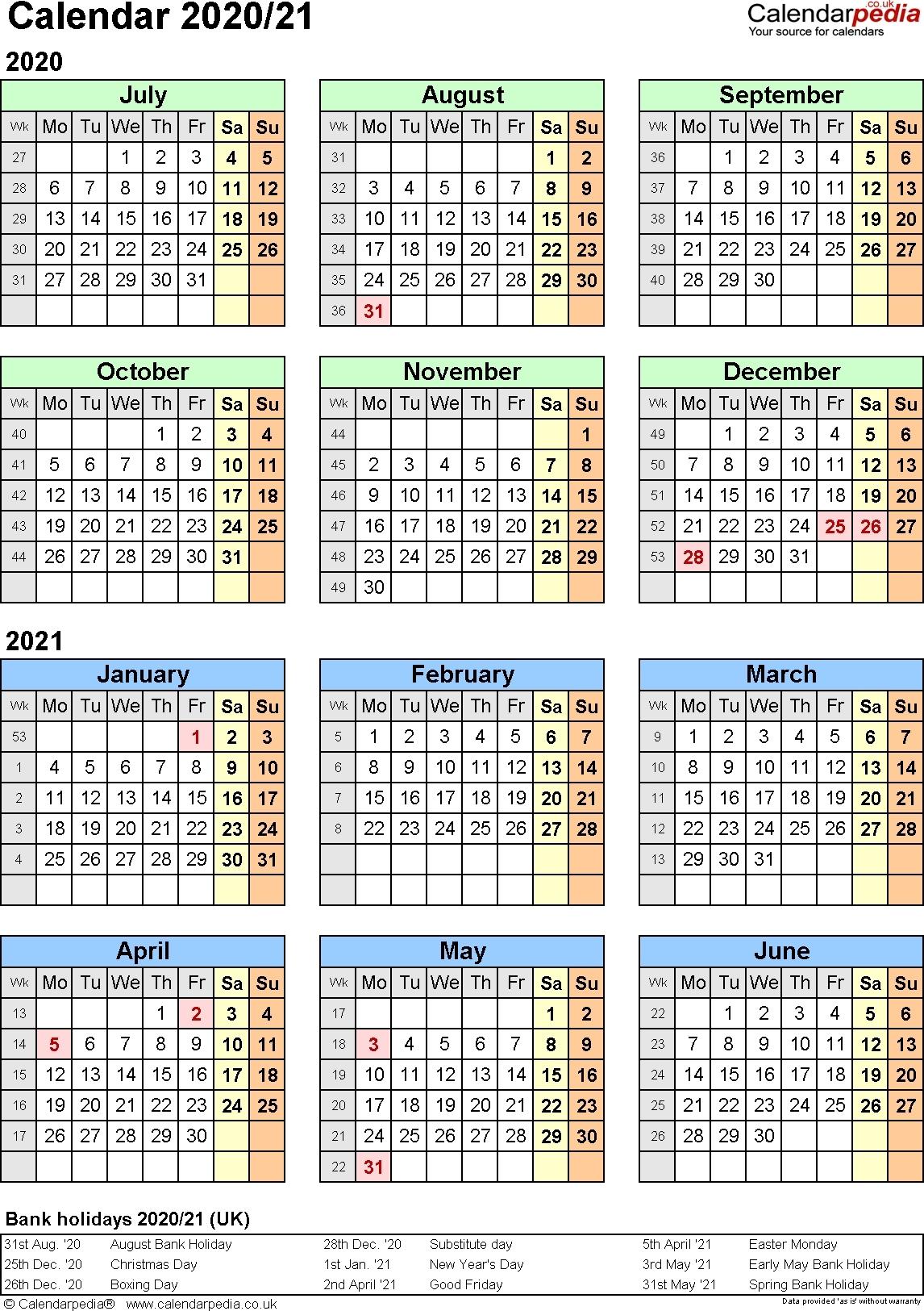 2020 Federal Leave Calendar Opm