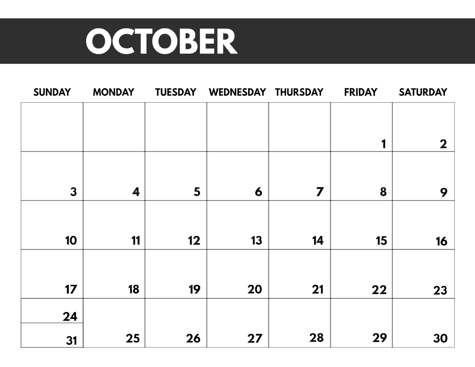 2021 Free Monthly Calendar Templates | Paper Trail Design
