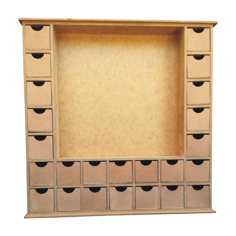 25 Drawer Advent Calendar Box