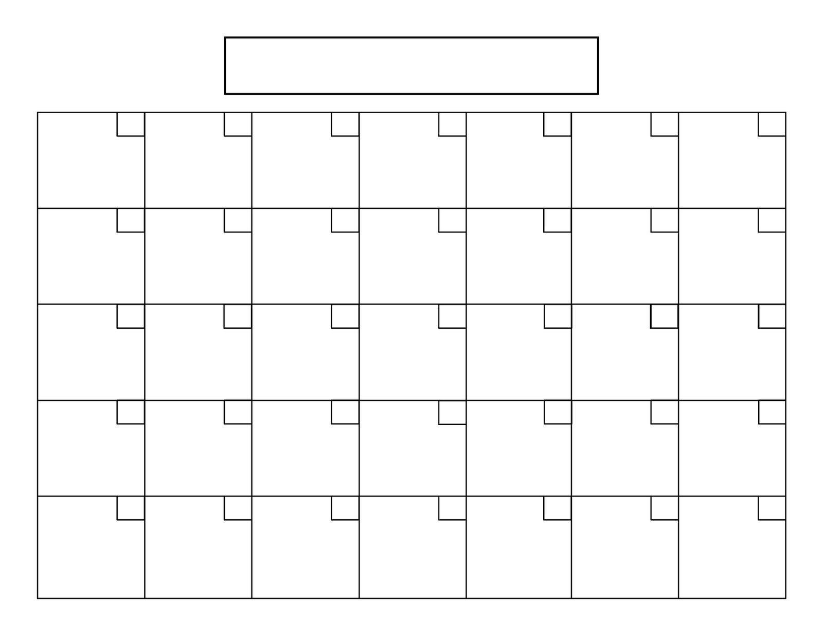 31 Day Month Calendar Printable In 2020 | Calendar