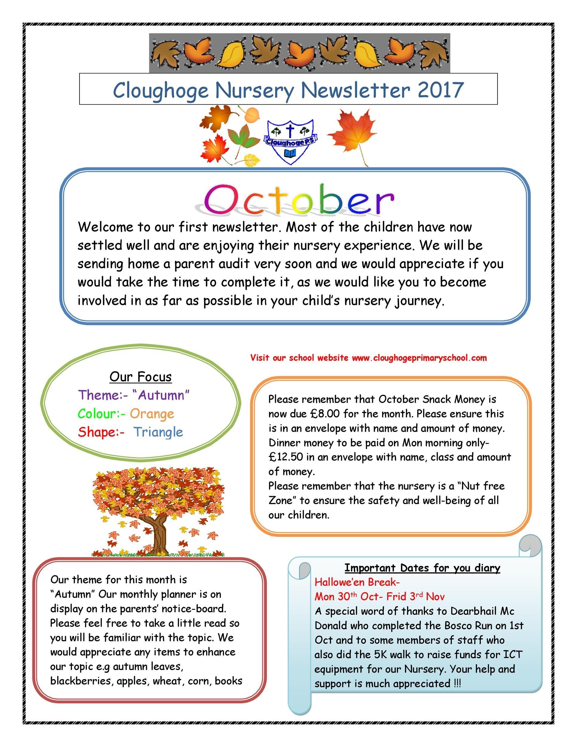 50 Creative Preschool Newsletter Templates (+Tips) ᐅ