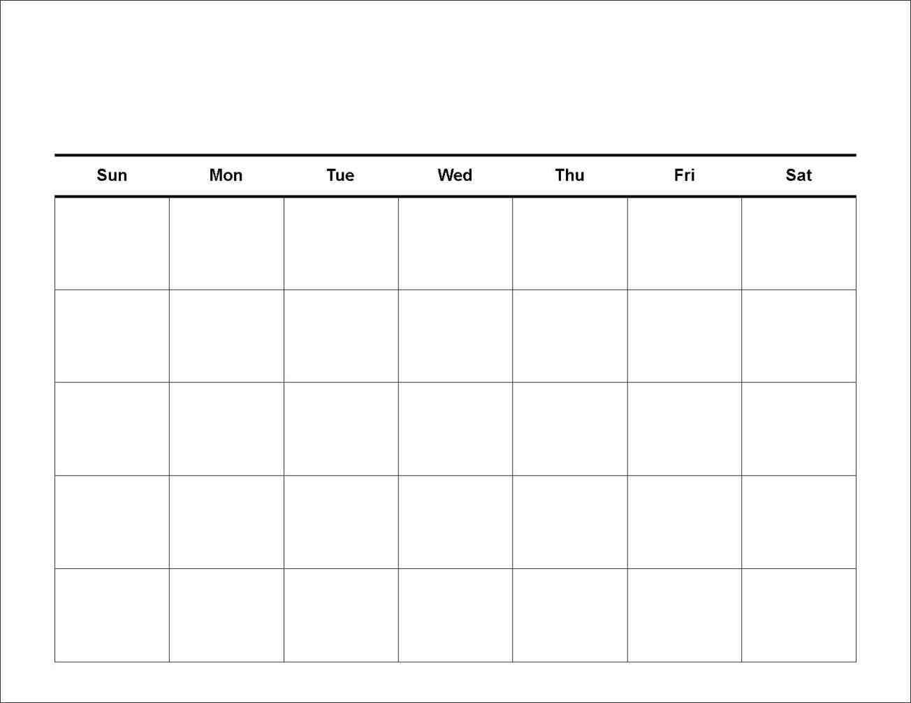 7 Day Calendar Template | Free Printable Calendar Templates within Free Priintable Calendar Day By Day