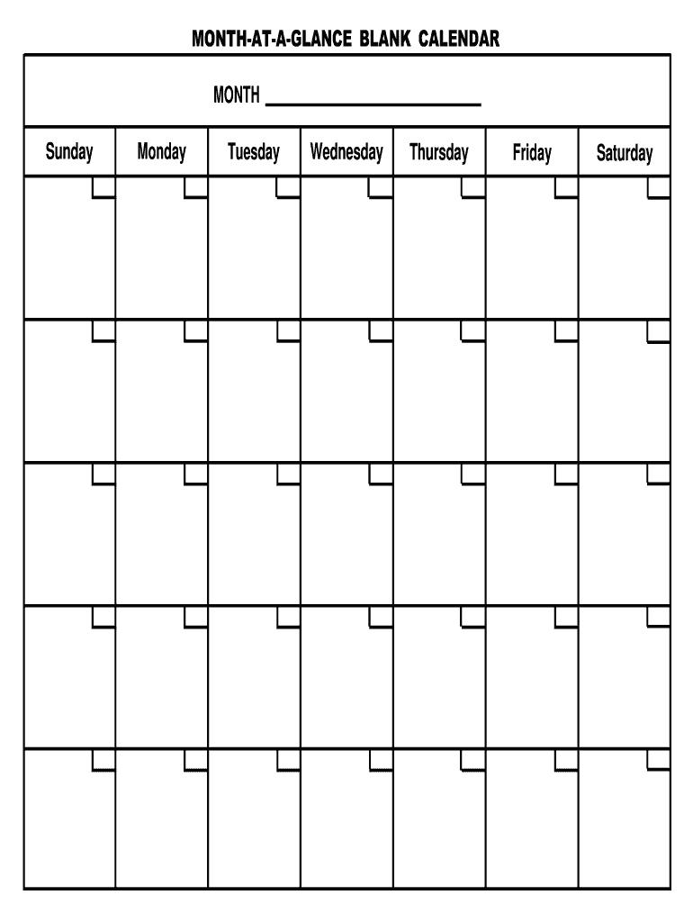Absentee Calendar Template 2021 - Fill Online, Printable