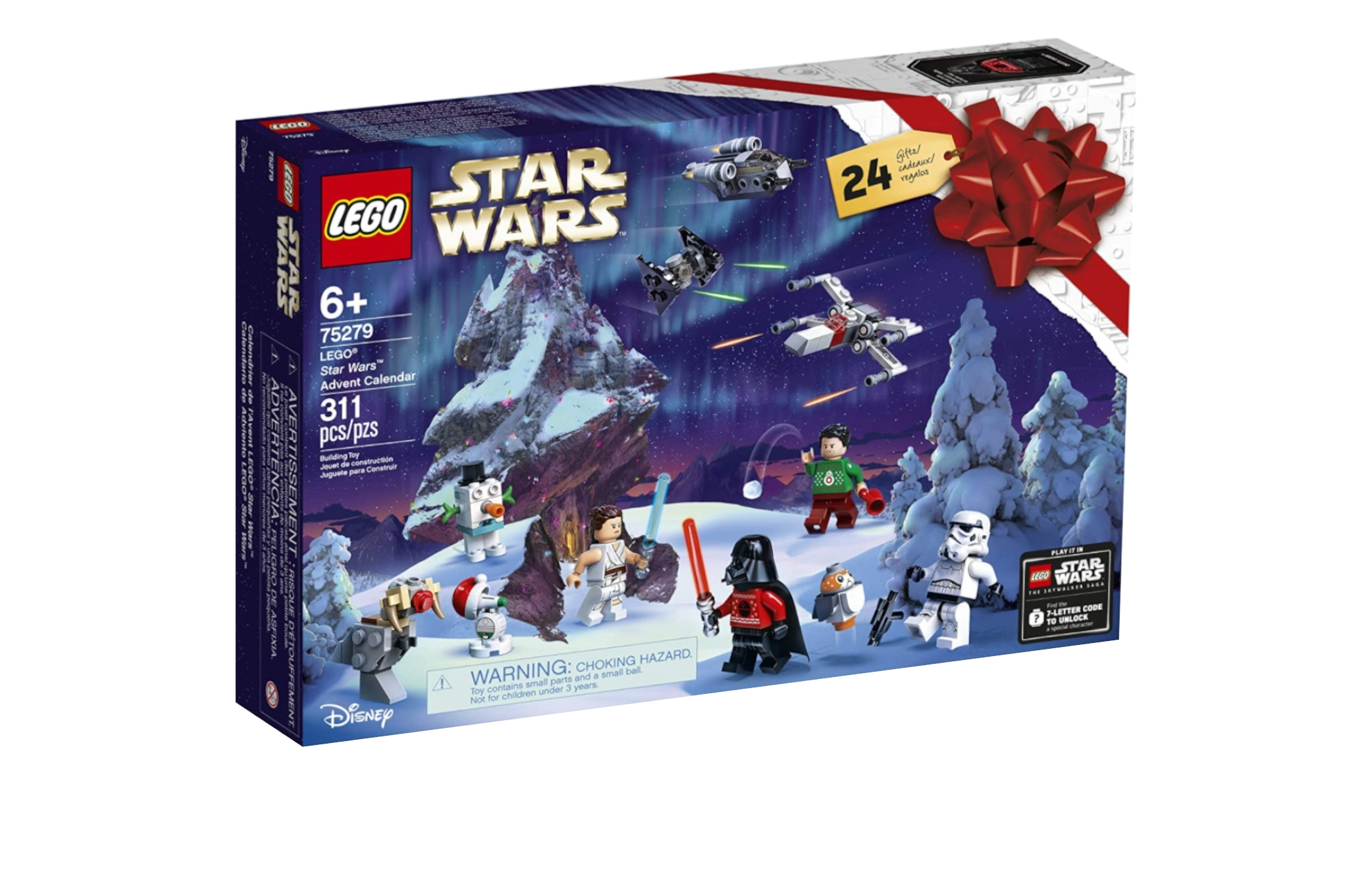 Assemble This 311-Piece Lego Star Wars Advent Calendar 2020