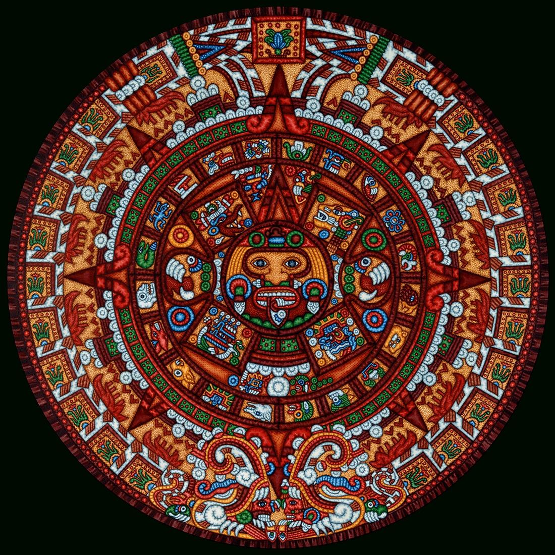 Aztec Calendar | Nwsisdmrc