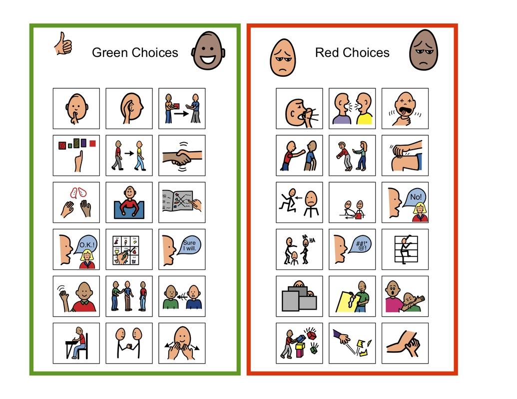 Behavior Charts For Autism | Self-Management & Emotional