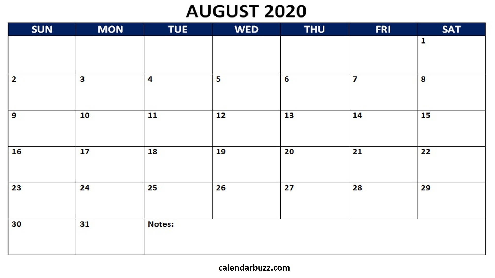 Blank 2020 Calendar Printable Monthly Word Templates with regard to Individual Monthly Printable Calendars For 2020 And 2021