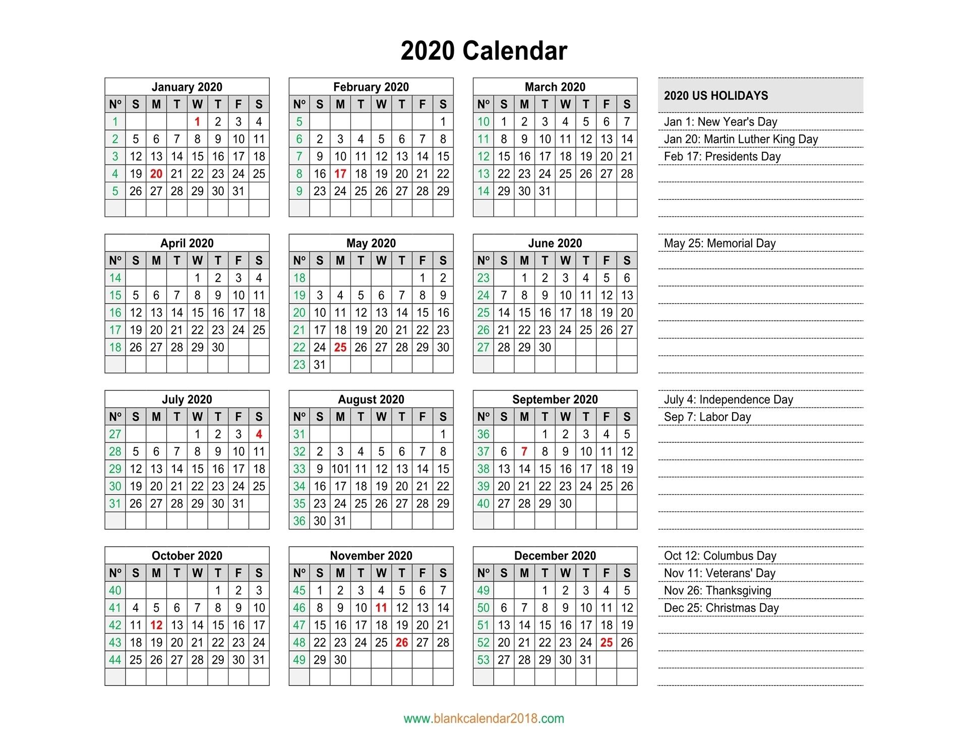 Blank Calendar 2020 inside 2019 2020 Calendar Space To Write