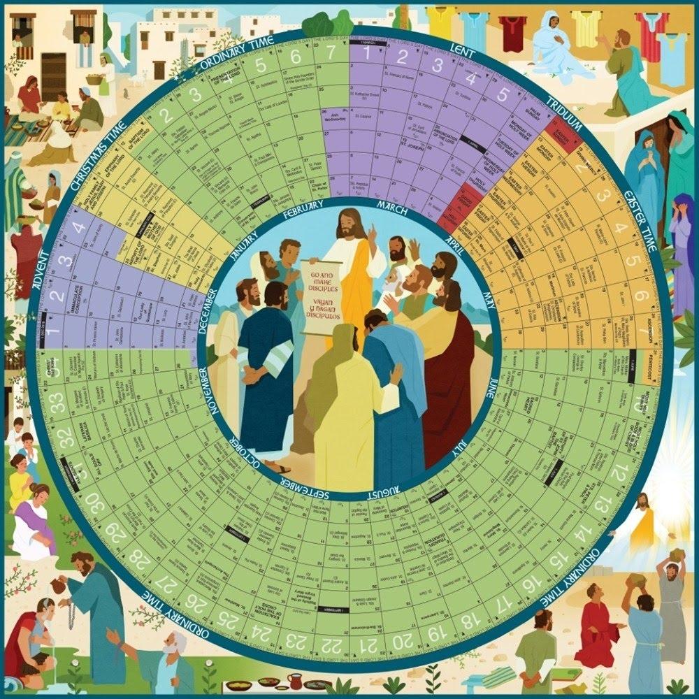 Calendar Of The Church Year - Calvarych-Sc