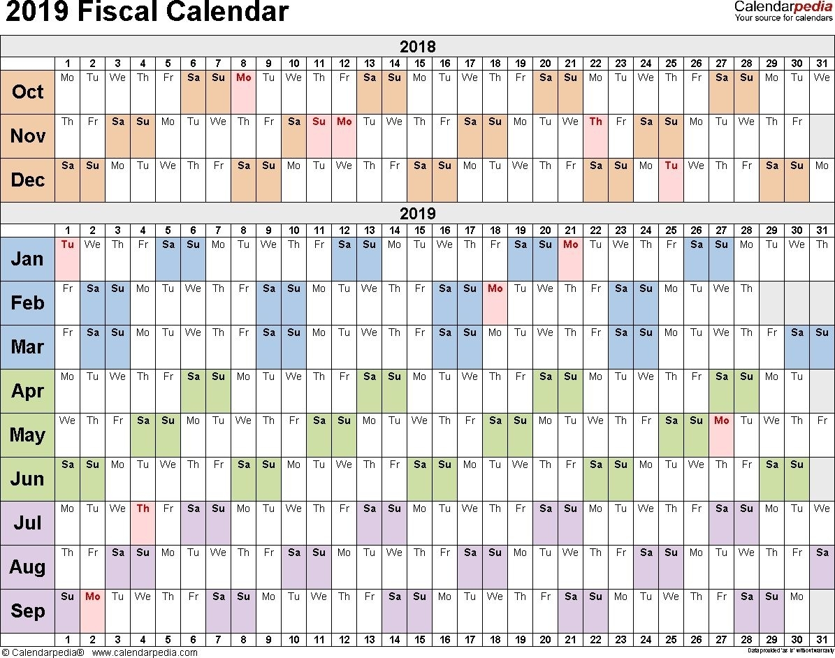 Calendar Week Numbers Financial Year In 2020 | Fiscal